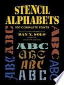 Stencil Alphabets