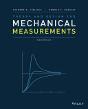 theory-and-design-for-mechanical-measurements-6th-edition