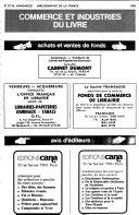 Bibliographie de la France, Biblio