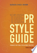 The PR Styleguide  Formats for Public Relations Practice