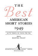 The Best American Short Stories ... and the Yearbook of the American Short Story