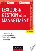 Lexique de gestion et de management   9e   d