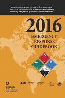 2016 Emergency Response Guidebook