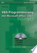 VBA Programmierung mit Microsoft Office 2007