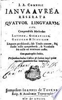Ianua aurea reserata Quatuor linguarum