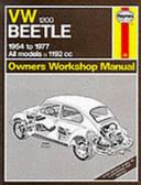 Volkswagen Beetle 1200   54 to  77