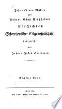 Geschichten schweizerischer Eidgenossenschaft