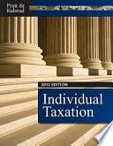 Individual Taxation 2012