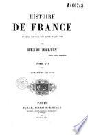 Histoire de France  depuis les temps les plus recul  s jusqu en 1789
