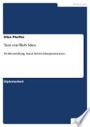 Test von Web Sites