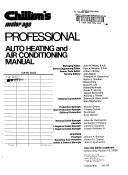 Chilton's motor/age professional auto heating and air conditioning manual