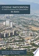 Citizens    Participation in Urban Planning and Development in Iran