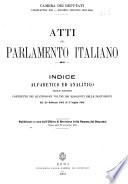 Atti parlamentari dello Senato