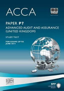 Acca - P7 Advanced Audit and Assurance (UK) Of Acca Content Our Examiner Reviewed Study