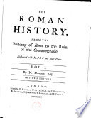 The Roman history  from the building of Rome to the ruin of the commonwealth