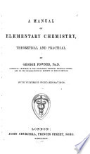 A Manual of Elementary Chemistry