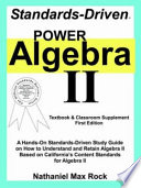 Standards Driven Power Algebra II