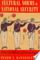 Cultural Norms and National Security