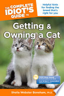 The Complete Idiot s Guide to Getting And Owning A Cat