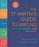 The St  Martin s Guide to Writing with 2009 MLA Update