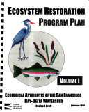 Ecosystem Restoration Program Plan