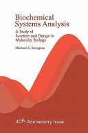 Biochemical Systems Analysis