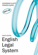 Valuepack English Legal System Law Express