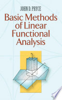 Basic Methods of Linear Functional Analysis