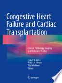 Congestive Heart Failure and Cardiac Transplantation