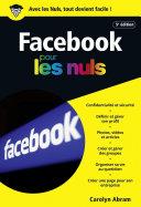 Facebook 5e   dition poche pour les Nuls