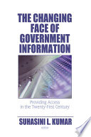 The Changing Face of Government Information Free download PDF and Read online