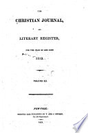 The Christian Journal And Literary Register