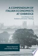 A Compendium of Italian Economists at Oxbridge