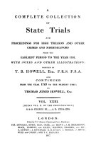 download ebook a complete collection of state trials and proceedings for high treason and other crimes and misdemeanors from the earliest period to the year 1820. (etc.) pdf epub