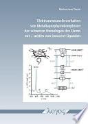 Elektronentransferverhalten Von Metallaporphyrinkomplexen der Schweren Homologen des Eisens Mit Pi-Aziden Non-innocent-Liganden