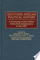 Southern African Political History