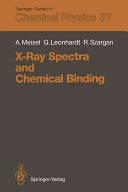 X Ray Spectra and Chemical Binding