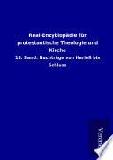 Real-Enzyklopädie für protestantische Theologie und Kirche