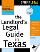 The Landlord s Legal Guide in Texas