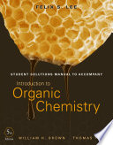 Student Solutions Manual to Accompany Introduction to Organic Chemistry  5th Edition