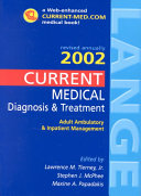 Current Medical Diagnosis Treatment 2002