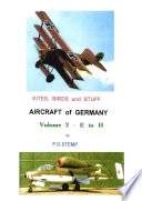 Kites  Birds   Stuff   Aircraft of GERMANY   E to H