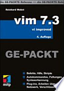 vim 7 3 GE PACKT