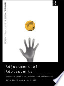 Adjustment Of Adolescents