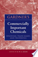 Gardner s Commercially Important Chemicals