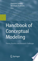 Handbook Of Conceptual Modeling
