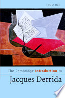 The Cambridge Introduction to Jacques Derrida