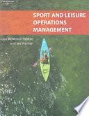 illustration du livre Sport and Leisure Operations Management
