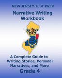 New Jersey Test Prep Narrative Writing Workbook  Grade 4