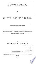 Logopolis  Or City of Words
